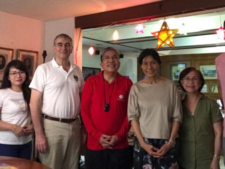Fr. Anton Pascual visit T-E