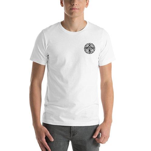 Short-Sleeve Unisex T-Shirt - In Mandala Embroidery