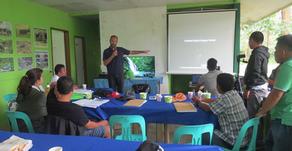Presenting camera trap methodology to LGU Sablayan during Tamaraw month (28-10-2019)