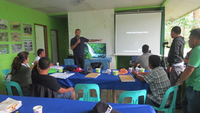 Presenting camera trap methodology to LGU Sablayan during Tamaraw month (28-10-2019)