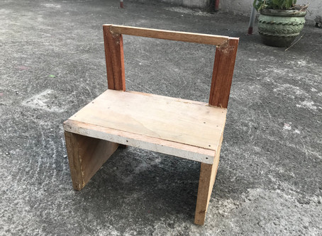 Building two Chairs, for Gabriel my 1 year old, at his Moms request