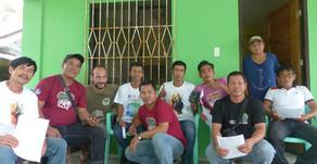 Camera trap training of the Aruyan Malati tamaraw ranger's team(13/12/2019)
