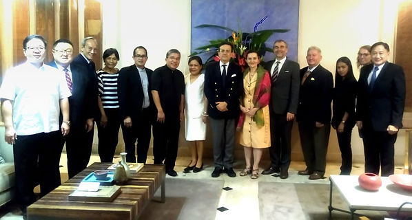 Board meeting hosted Ambassador M. (2).j