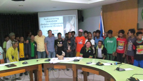 Turn over ceremony  Mindoro stakeholders following the new Tamaraw population (Sept 2018)