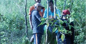 Training the newly assigned tamaraw rangers of Mt. Calavite Wildlife Sanctuary(22/11/2019)