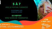 Courts d'un Soir 5 à 7 with Festival Les Filministes