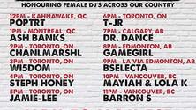 Foreign City Canada Coast to Coast Sundays Sponsored by Fireball Whiskey