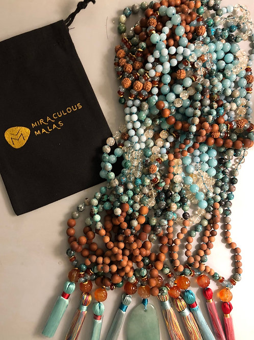 Custom Mala for Retreats