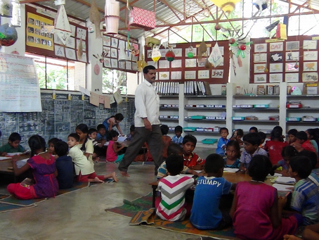 Establishing Play Facilities for Rishi Valley Rural Education Center Satellite Schools