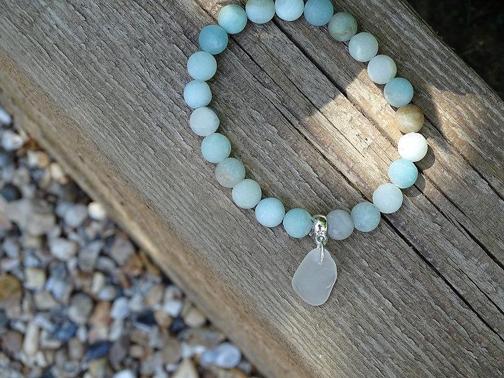 Amazonite beach bracelet (03)