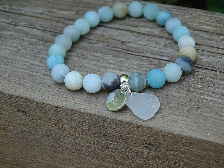 Amazonite beach bracelet (02)