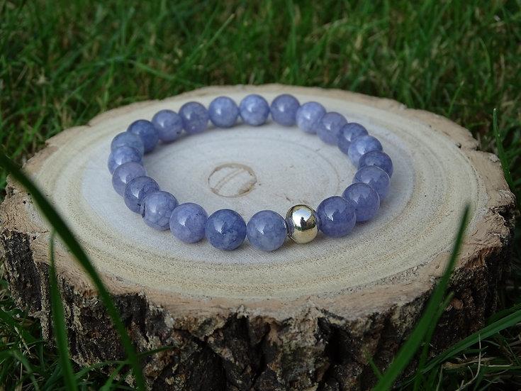Lilac Blue Quartzite Bracelet