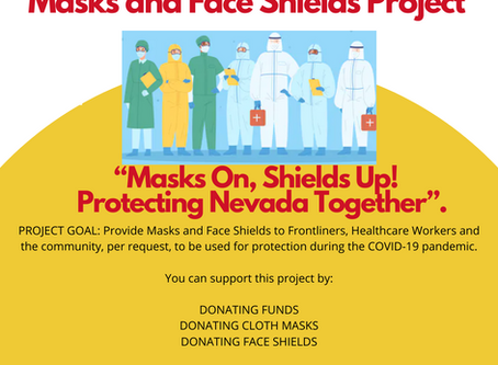 PNANV Masks and Shields Project