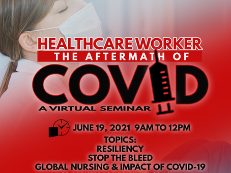 Virtual Seminar: HEALTHCARE WORKER - The aftermath of COVID