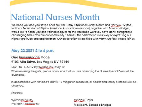 Nurses' Special Event
