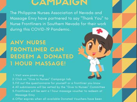 FREE 1 Hr Massage for Nurses from Massage Envy