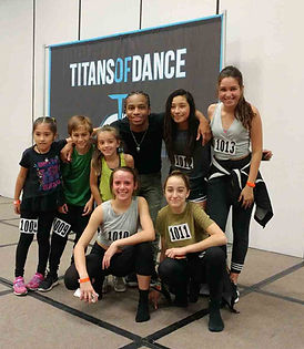 Titans of Dance Group Pic