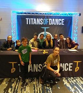 Titans of Dance Registration
