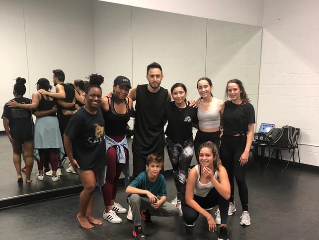Class w Kobi Rozenfeld of Dupree Dance C