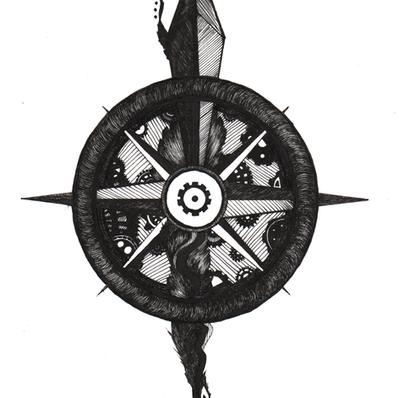 Inky Compass