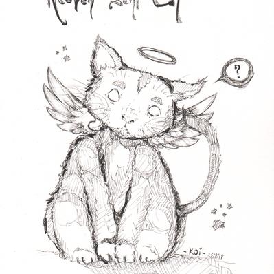 Band Illustration: Heaven Sent Cat