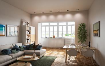 3D_Innenraumgestaltung_Wohn_Ess_Zimmer