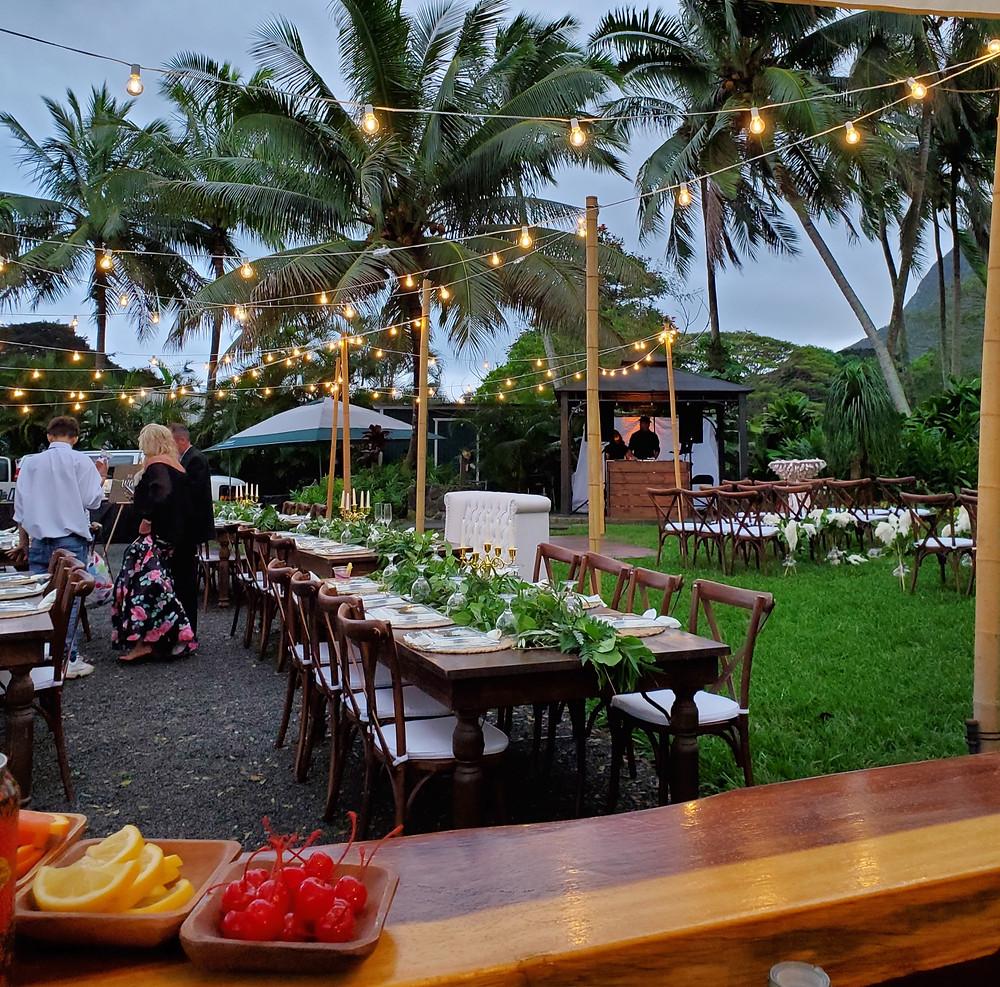 Wedding venue in Hawaii