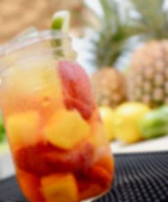 Sparkling fruits snack