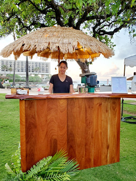 Shave ice stand