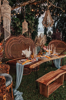 Tables and Canopy