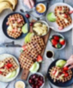 Belgian Waffles bar