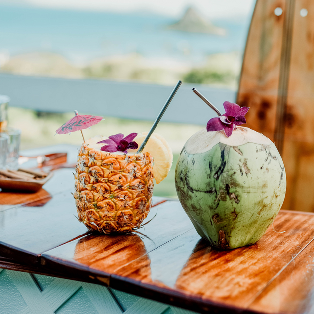 Coconut & Pineapple catering