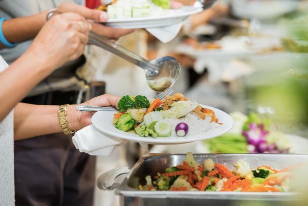 Fine Seafood & Hawaiian catering buffet style