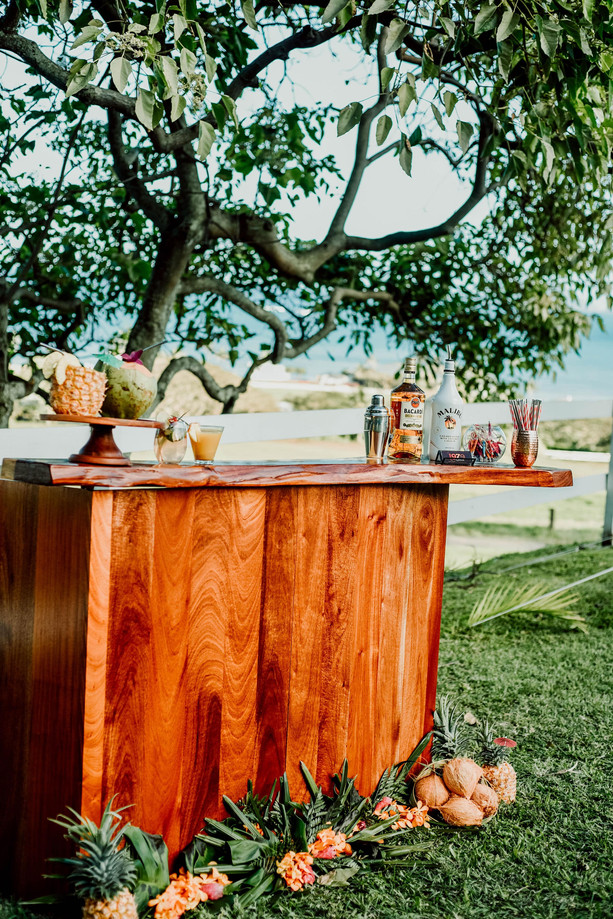 Sandy bar - Paliku Gardens