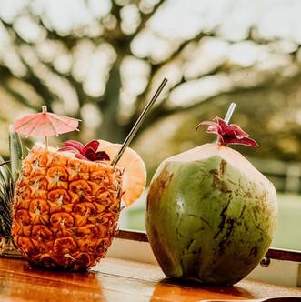 Pina-Colada & Coco Lolo cocktails