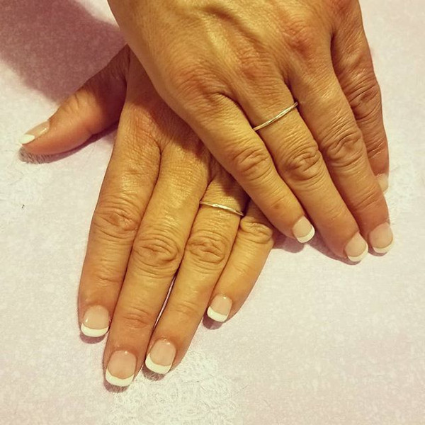 French dip manicure #dippingpowder #dipp