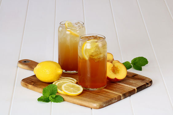 Iced Tea - Lemon and Mint, Peach.jpg