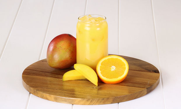Juice by the glass - Orange and Mango.jp