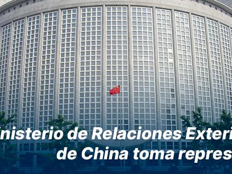 China toma represalias