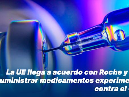 La UE llega a acuerdo con Roche y Merck para suministrar medicamentos experimentales contra el COVID