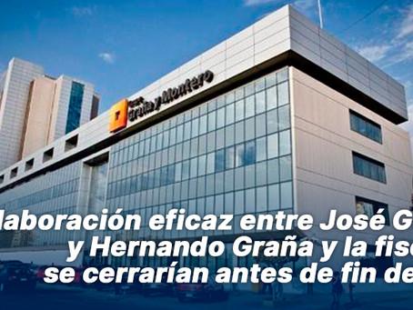 Colaboración eficaz entre José Graña y Hernando Graña y la fiscalía se cerrarían antes de fin de año