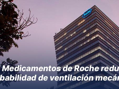 Medicamentos de Roche reducen probabilidad de ventilación mecánica