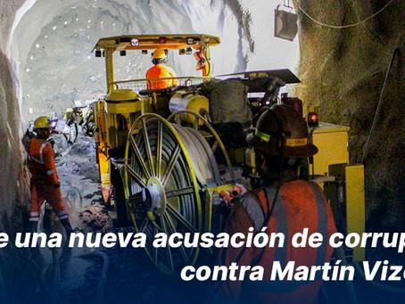 Surge una nueva acusación de corrupción contra Martín Vizcarra