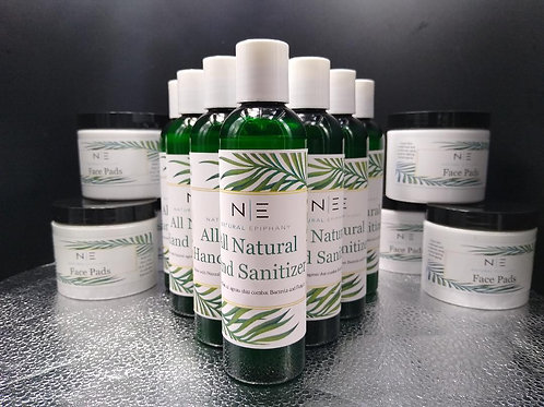 All Natural Hand and Body Sanitizer Gel
