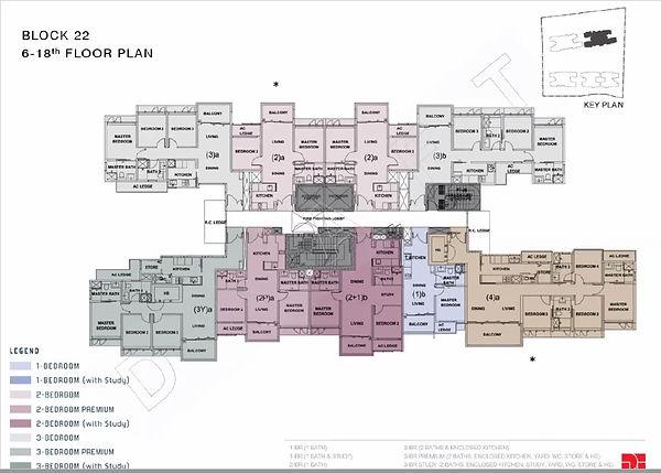 Penrose Floor Plan_Blk 22_Lvl 6 to 18.jp