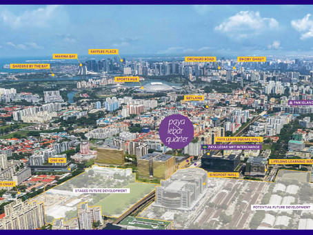 Transformation of Paya Lebar Central to-date