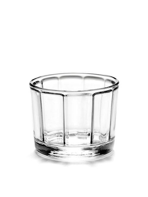 Glas S, set van 4