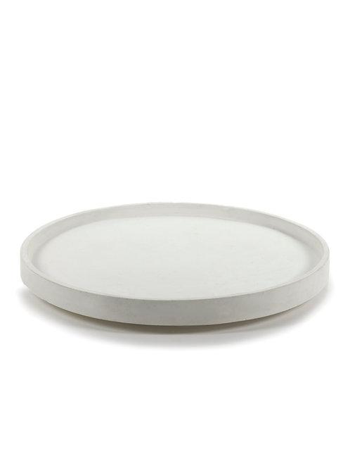 Dienblad wit cement