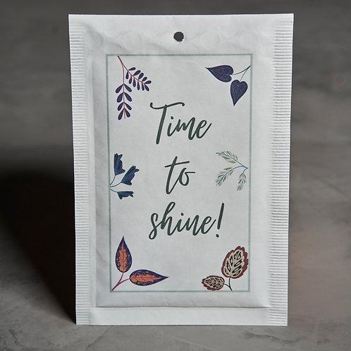 """Bubbel envelop """"Time to shine"""""""