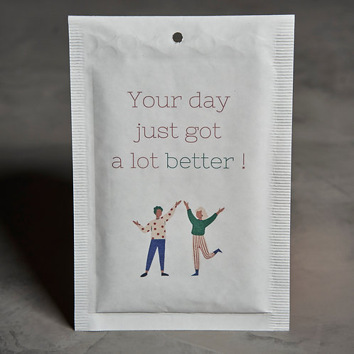 "Bubbel envelop ""Better day"""